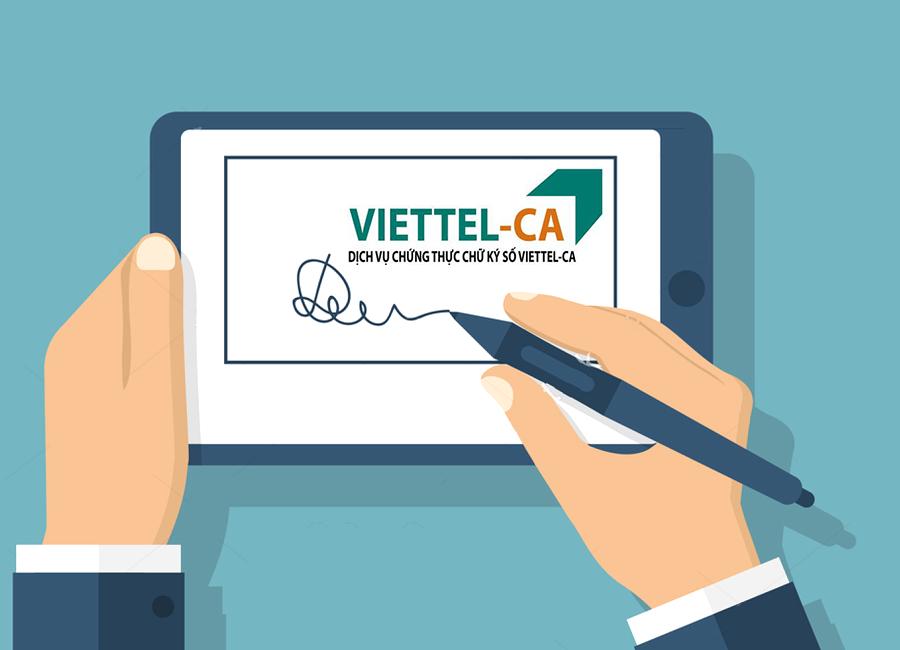 Bảng báo giá dịch vụ chữ ký số Viettel 2021