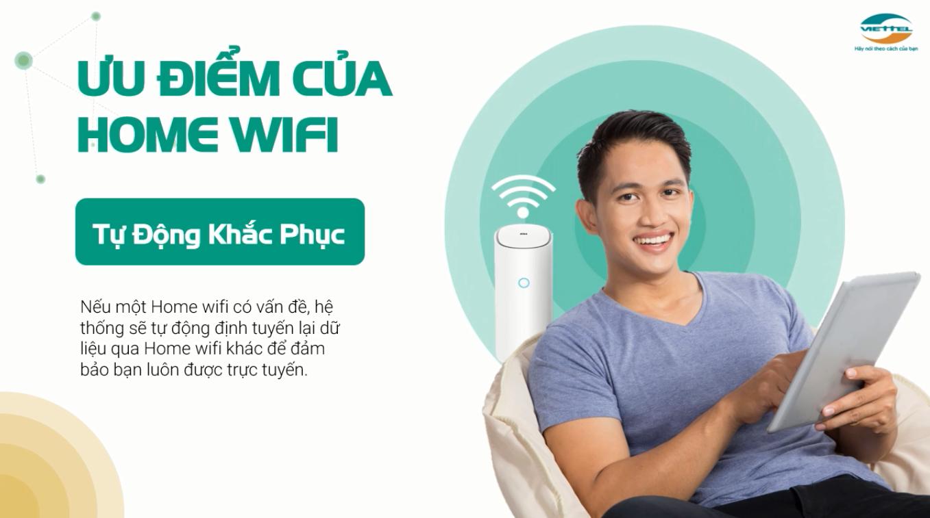 Home Wifi Viettel tự động khắc phục sự cố