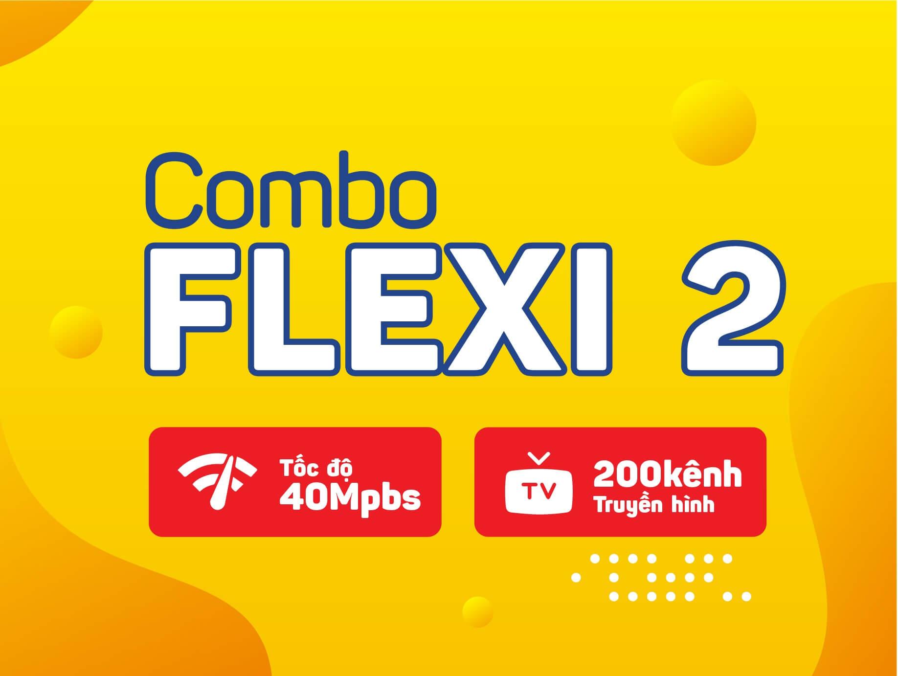 Combo Internet Truyền Hình Flexi 2