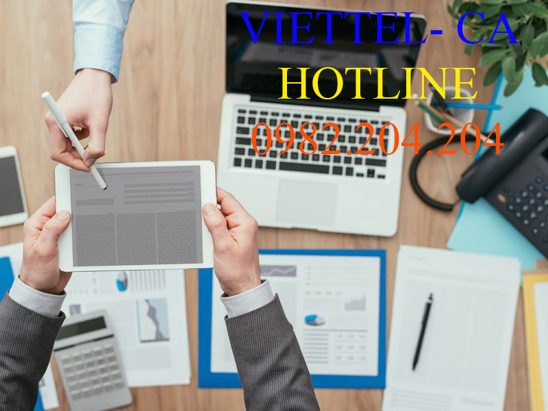 Chữ ký số Viettel giá rẻ