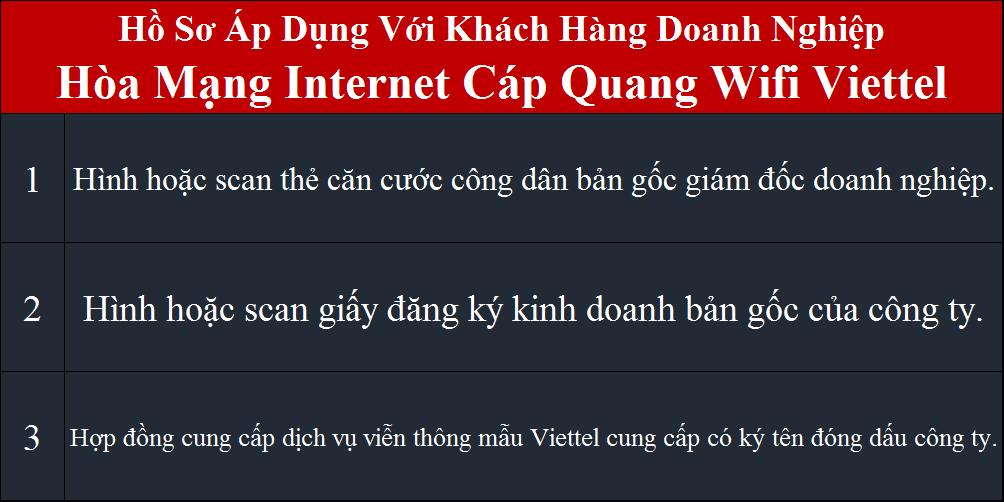 Đăng ký mạng Viettel doanh nghiệp