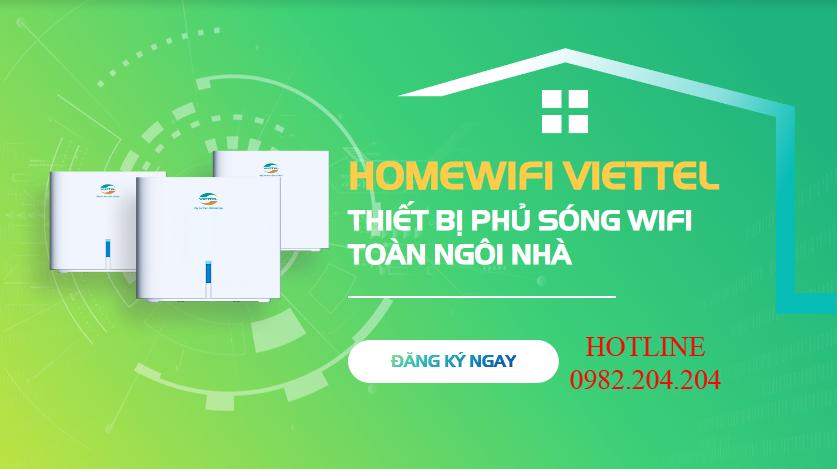 Giải pháp Home wifi Viettel Không còn nỗi lo sóng wifi yếu