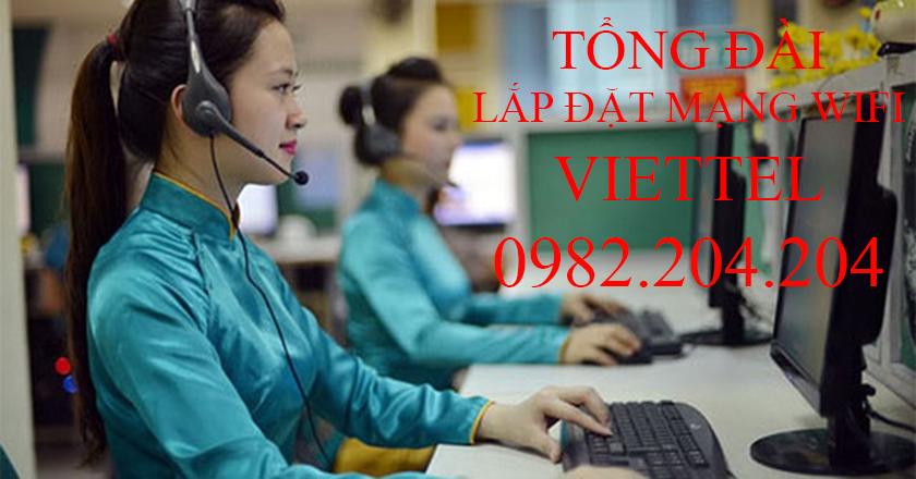 Tổng Đài Lắp Đặt Mạng Internet Cáp Quang Wifi Viettel 0982024204