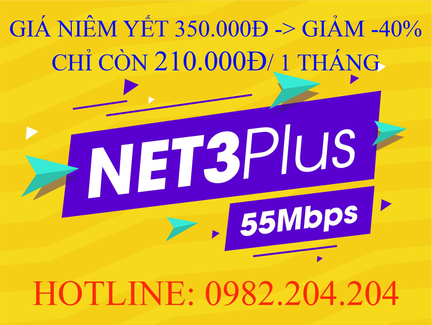 Tổng đài đăng ký internetnet Viettel 0982204204 Cung Cấp Gói Net 3 plus