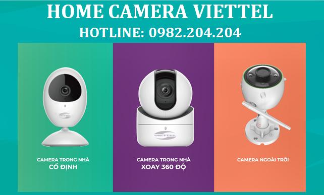 Bảng Giá Home camera Viettel