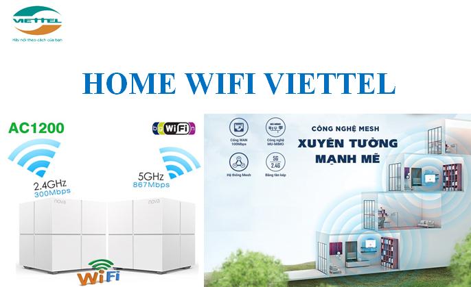 Supernet Home wifi Viettel công nghệ mạng Mesh xuyên tường mạnh mẽ