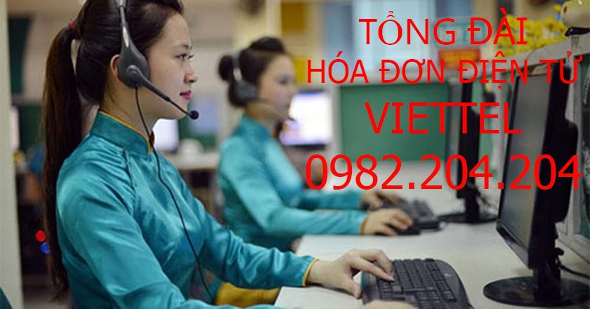 Tổng đài hóa đơn điện tử Viettel 0982204204