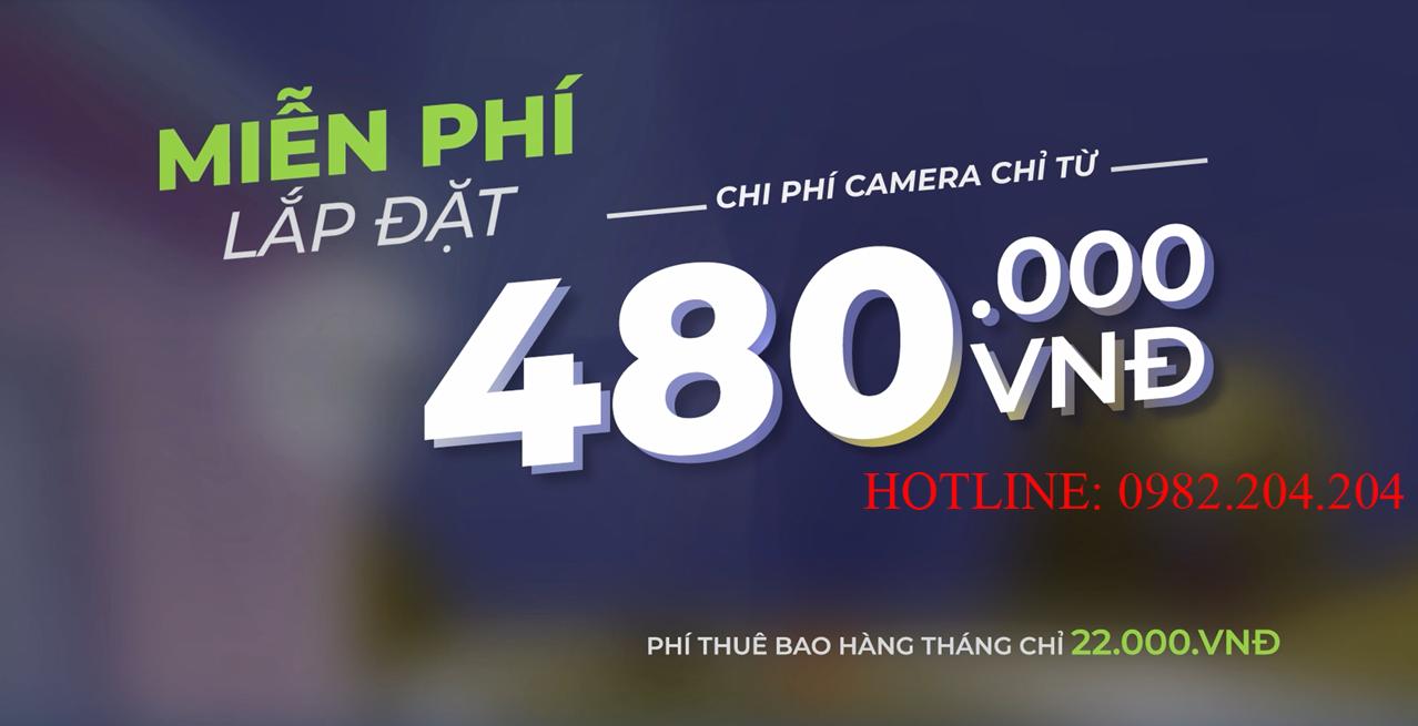 Chương trình khuyến mãi miễn phí lắp đặt Home Camera Viettel chính hãng