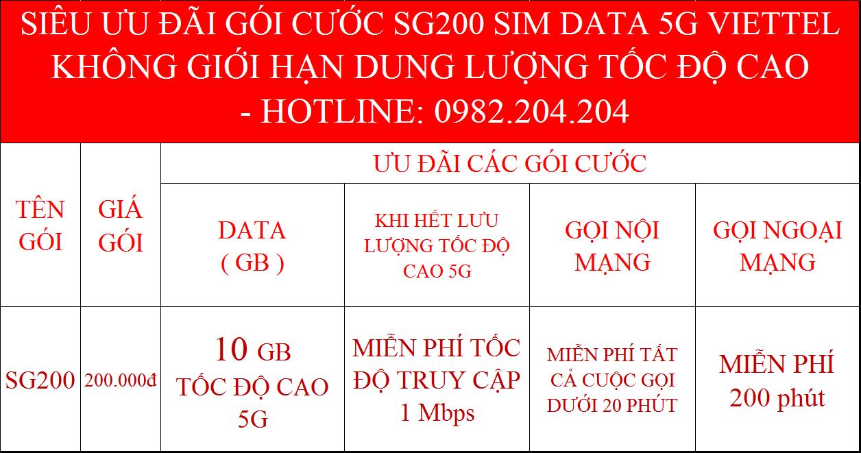 Ưu Đãi Sim 5G Viettel Phát Wifi Không Giới Hạn