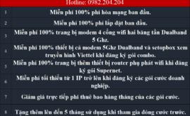 Đăng Ký Lắp Mạng Internet Cáp Quang Wifi Viettel Quận 7 TPHCM 2021