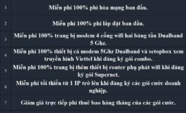 Lắp wifi Viettel 2021 Mạng Internet FTTH Cáp Quang