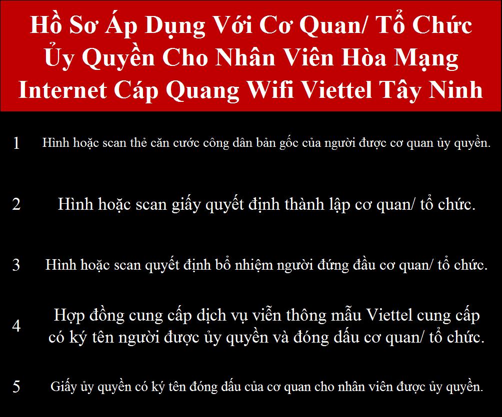 Đăng ký cáp quang Viettel Châu Thành Tây Ninh