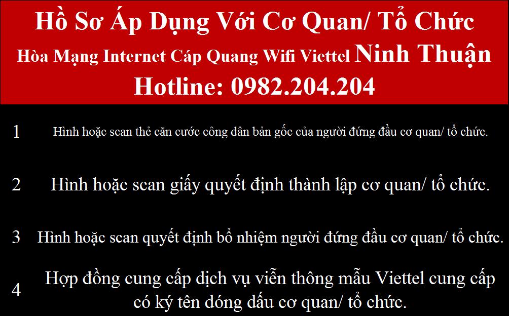 Đăng ký mạng Viettel Ninh Thuận