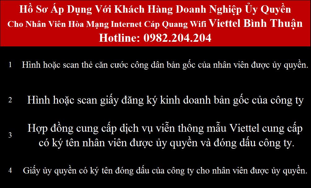 Lắp cáp quang Viettel Bình Thuận