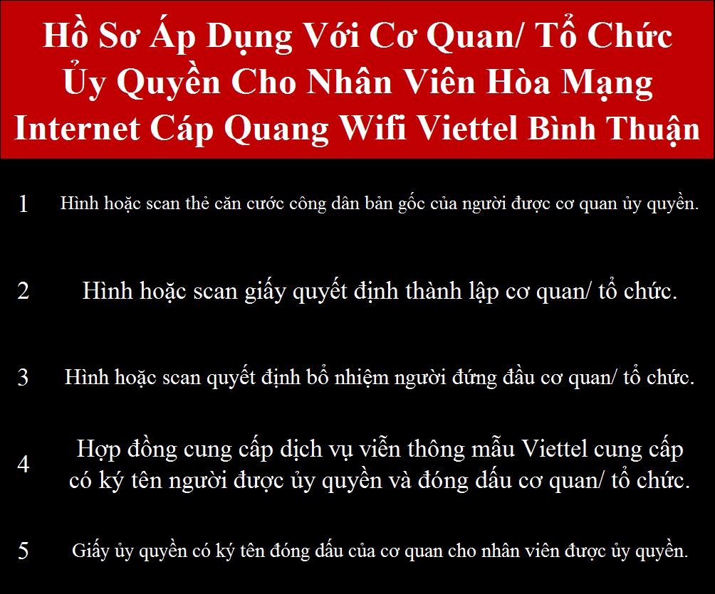 Lắp internet Viettel Bình Thuận