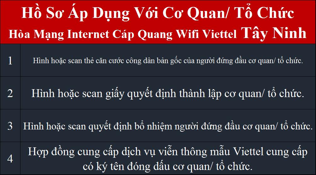 Lắp internet Viettel Tây Ninh