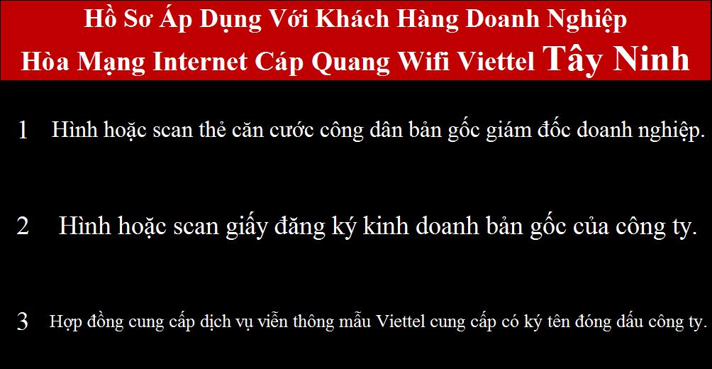 Lắp mạng Viettel Châu Thành Tây Ninh