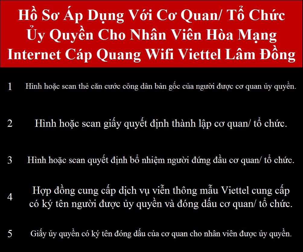 Lắp wifi Viettel Lâm Đồng