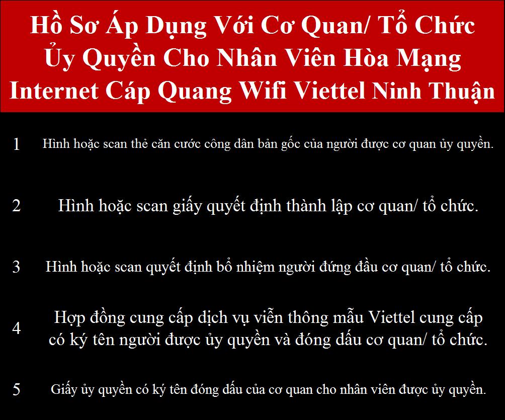 Lắp wifi Viettel Ninh Thuận